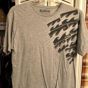 Gray billabong shirt
